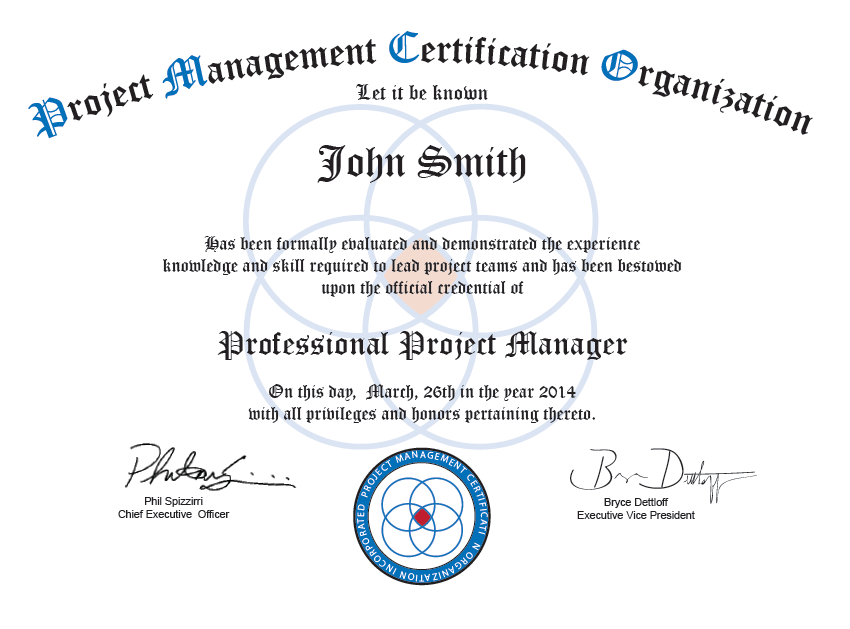 certified project manager Expertrating offers an online project management certification  , the role of the project manager has become all the more  certified project.